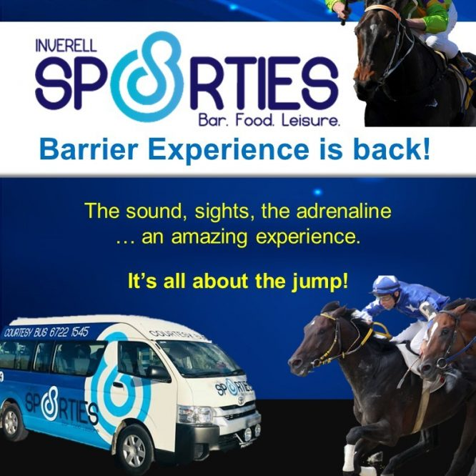 We're  excited to welcome the Inverell Sporties onboard for 2019-2020