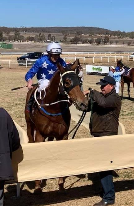 Inverell Jockey and Trainer team up for success