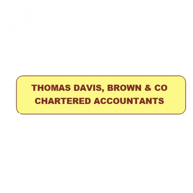 Thomas Davis, Brown & Co Chartered Accountants onboard for the October Meeting